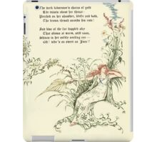 The Old Garden and Other Verses by Margaret Deland and Wade Campbell, Illustrated by Walter Crane 1894 89 - June P2 iPad Case/Skin