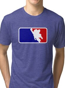 Mighty Mouse Baseball Tri-blend T-Shirt