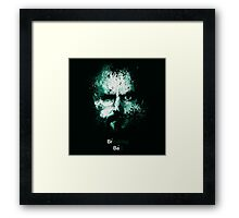 Heisenberg Breaking Bad Framed Print