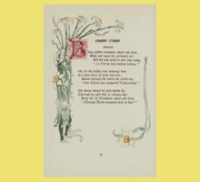 The Old Garden and Other Verses by Margaret Deland and Wade Campbell, Illustrated by Walter Crane 1894 208 - Easter Music Kids Tee