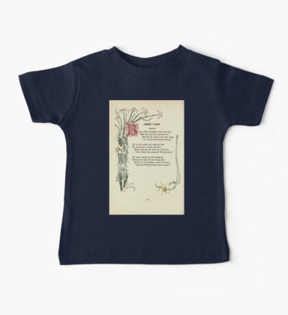 The Old Garden and Other Verses by Margaret Deland and Wade Campbell, Illustrated by Walter Crane 1894 208 - Easter Music Baby Tee