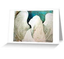 EN968 Angel Painting Greeting Card