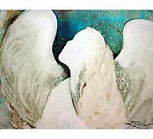 EN968 Angel Painting Photographic Print