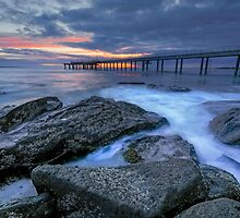 Sunrise at the Pier by David  Hibberd