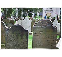 Old Gravestones Poster