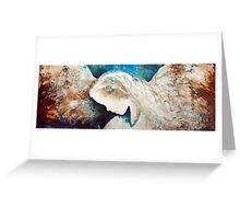 EN991 Angel Painting Greeting Card