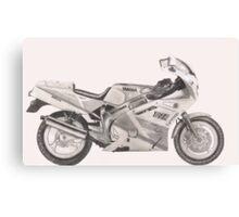 Yamaha FZR600 Canvas Print