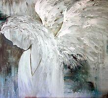 EN1028 Angel Painting by ReneaL