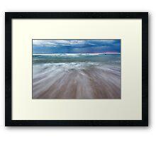Portsea Sunset - Mornigton Peninsula Framed Print