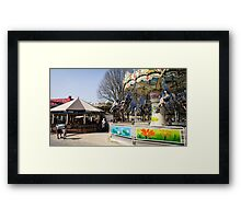 Carousels Framed Print