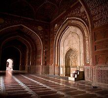Masjid of Taj Mahal by Alexander Meysztowicz-Howen