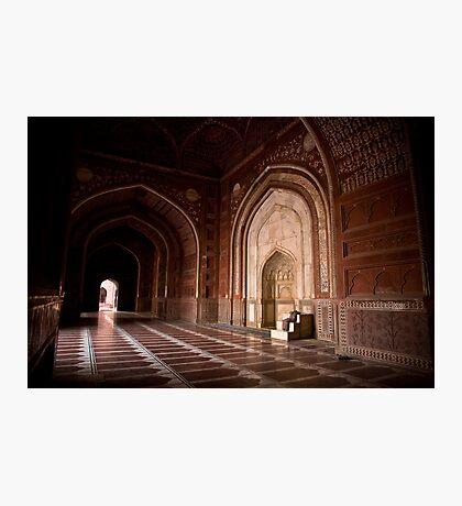 Masjid of Taj Mahal Photographic Print
