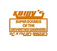 Super Sounds of the 70's Weekend (Orange) Photographic Print