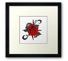 Steampunk Rose Framed Print