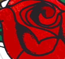 Steampunk Rose Sticker