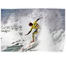 Mick Fanning in 2009 Rip Curl Pro, Bells Beach (4) Poster