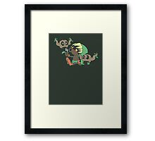 You Must Be Lost Framed Print