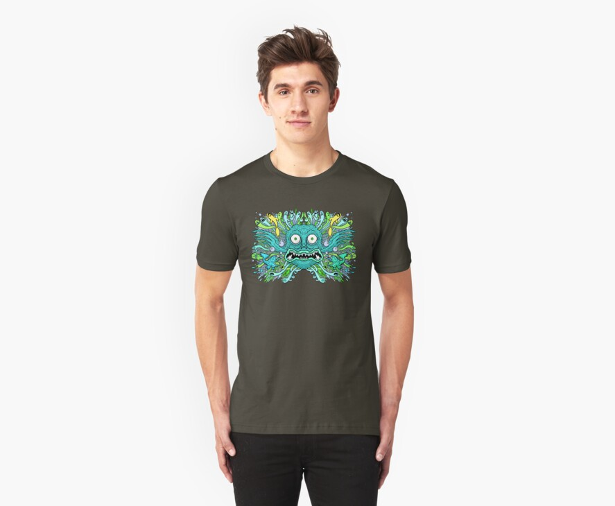 Reef Geek Tee Shirt by Ross Radiation