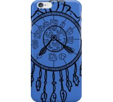 Dreamcatcher Clock iPhone Case/Skin