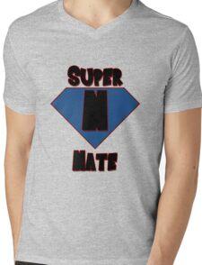 Super Nate! Mens V-Neck T-Shirt