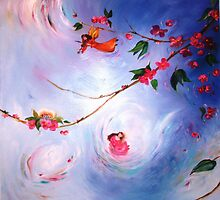 Flying Fairies by Narelle  Green