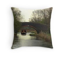 Bridge 36 Ashby Canal Throw Pillow