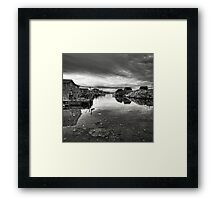 Atlantic Gloom Framed Print