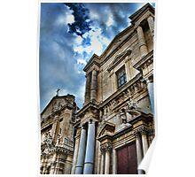 Chiese di via Crociferi, Catania Poster