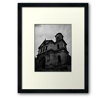 A church in Paris Framed Print