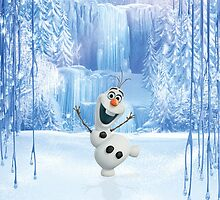 Happy Olaf - Frozen by davinciart