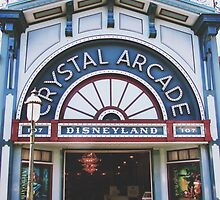 Disneyland's Main Street USA  by whitneymicaela