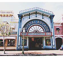 Disneyland's Main Street USA  Photographic Print