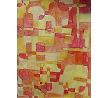Yellow, Orange and Red Photographic Print