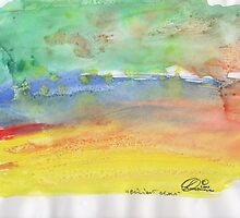 BRILLIANT BEACH(C2007) by Paul Romanowski