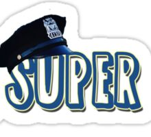 I am Super Cop! Sticker