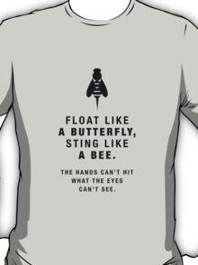 Martial Arts Quotes - Boxing T-Shirt