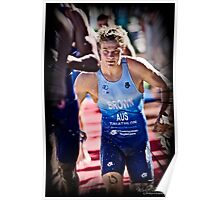 Towards the finishing line Poster