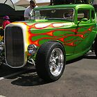 FLAMIN' COOL GREEN INJECTED HOTROD by boydcarmody