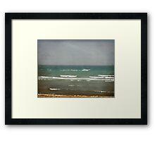 Sur beach Framed Print
