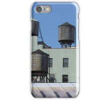 New York - Water tanks iPhone Case/Skin