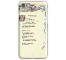 The Old Garden and Other Verses by Margaret Deland and Wade Campbell, Illustrated by Walter Crane 1894 133 - To Jealousie iPhone Case/Skin