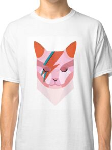 David Bowie Cat Classic T-Shirt