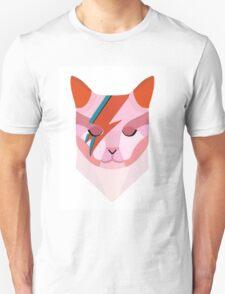 David Bowie Cat Unisex T-Shirt