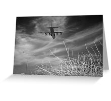 Happy landing Hercules Greeting Card