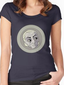 The First Doctor Women's Fitted Scoop T-Shirt