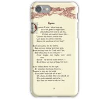 The Old Garden and Other Verses by Margaret Deland and Wade Campbell, Illustrated by Walter Crane 1894 213 - Hymn iPhone Case/Skin