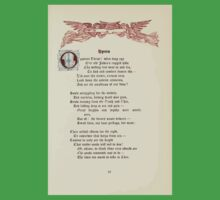 The Old Garden and Other Verses by Margaret Deland and Wade Campbell, Illustrated by Walter Crane 1894 213 - Hymn Kids Tee