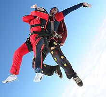 Tandem Skydive Exit by Barnesy