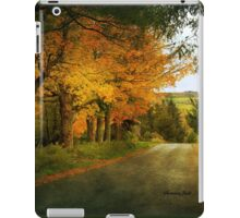 Going Home to the Hills and Valleys iPad Case/Skin
