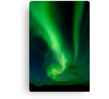Aurora Borealis - Þingvellir #7 Canvas Print